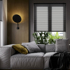 German Mu Anna free perforated blinds for toilets, kitchens, bathrooms, offices, sun-shading light lifting blinds