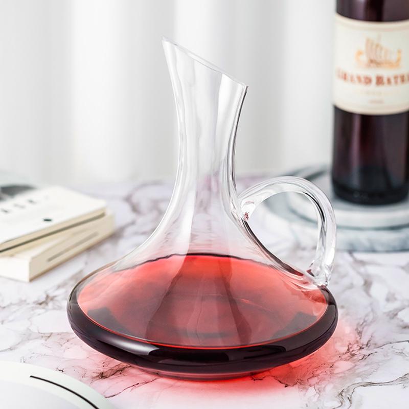 无铅水晶玻璃红酒醒酒器家用分酒器葡萄酒个性酒壶套装欧式酒具