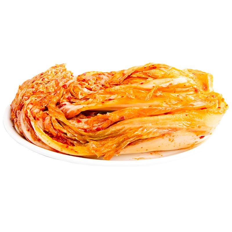 东北延边朝鲜族手工自腌地窖正宗辣白菜韩国泡菜正宗韩式泡菜2斤