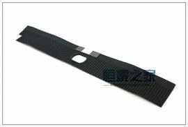 01-07老款蒙迪欧排挡杆面板防尘皮条换档位机构滑动轨道皮套挡板