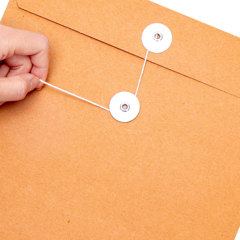 牛皮纸档案袋牛皮纸文件袋a4投标文件袋纸质加厚牛皮纸袋文件袋投标专用文件袋密封团员档案袋公文袋资料袋