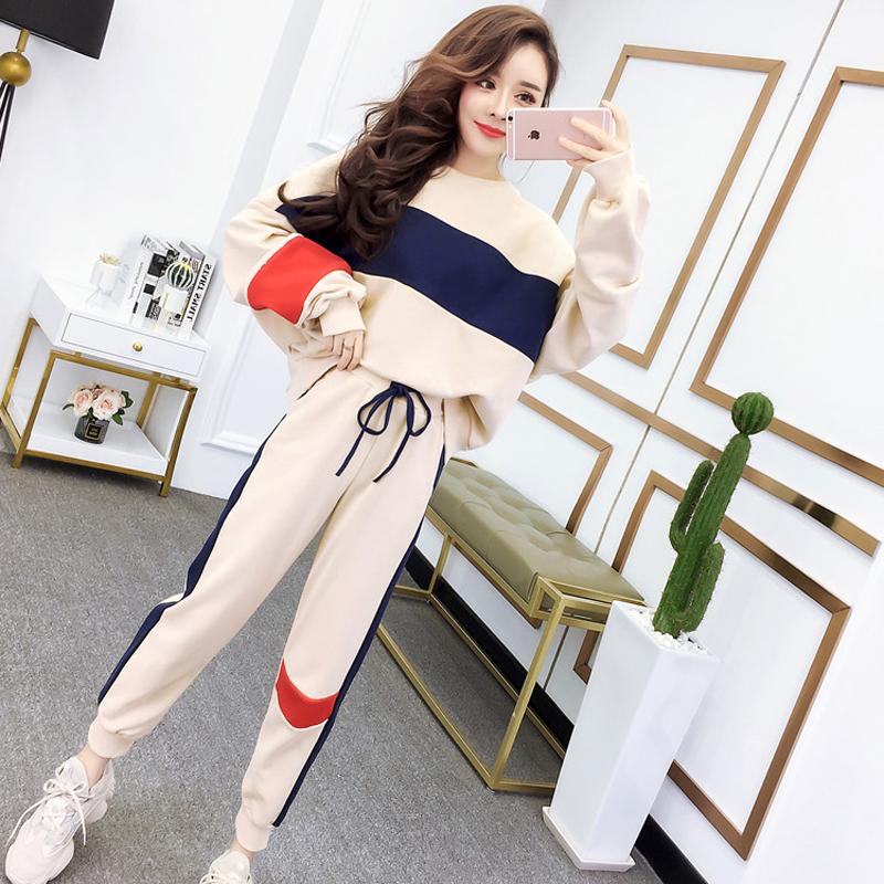 时尚潮流气质女神范衣服2020新款轻熟风御姐韩系秋装套装蹦迪女装