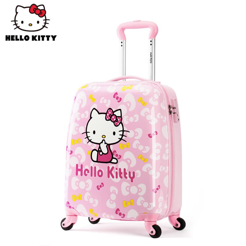 凯蒂猫行李箱拉杆箱不可忽视的两点,90%的人庆幸看了