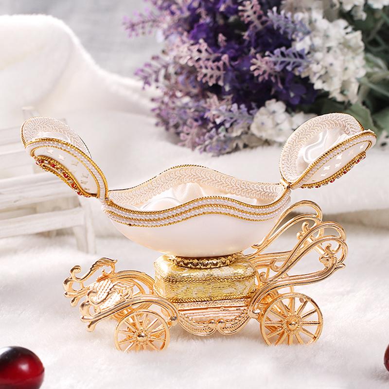 蛋雕马车音乐盒八音盒首饰盒创意闺蜜女友儿童生日七夕情人节礼物