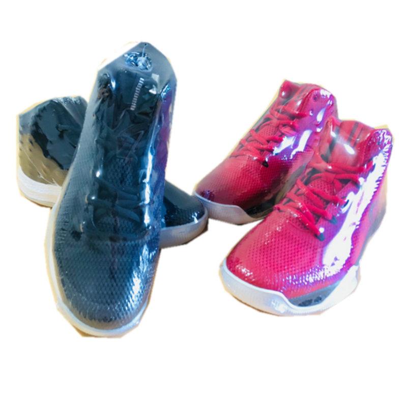 热收缩膜球鞋塑封保护膜鞋子塑封膜袋运动鞋 PVC 梯形鞋膜包邮透明