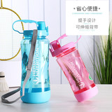 The new 2019 models upgraded sports bottle 1000 2000 ml pipette cup outdoor space Cup