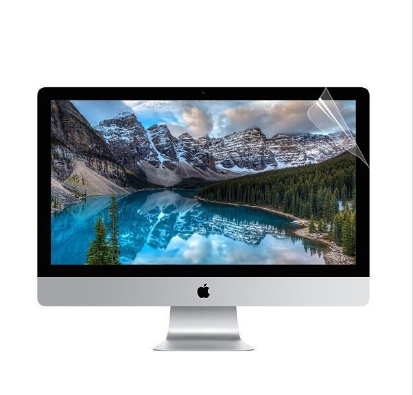 Mac苹果一体机电脑屏幕膜iMac21.5 27寸显示器防蓝光磨砂保护贴膜21英寸配件高清膜防指纹防