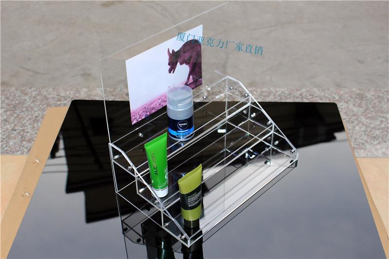 化妆品货架 面膜展示架 亚克力收纳架 化装品架 香水 格子铺 货架