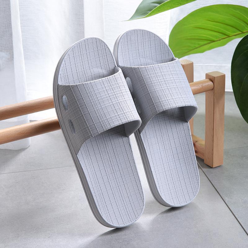 男士浴室拖鞋女夏季室内居家用防滑厚底镂空漏水洗澡新款凉拖鞋夏