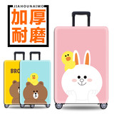 Elastic luggage cover trolley case travel dust cover bag protective cover 20/24/28 inch / 30 inch thick wear-resistant