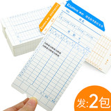 200 Timecard F3505 attendance concerted paper jam attendance hit jam microcomputer thick wholesale free shipping