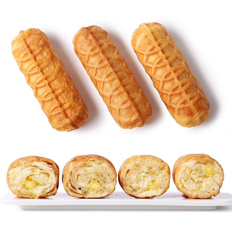 巴比熊华夫面包早餐糕点心口袋奶香零食蛋糕小面包整箱下午茶点心