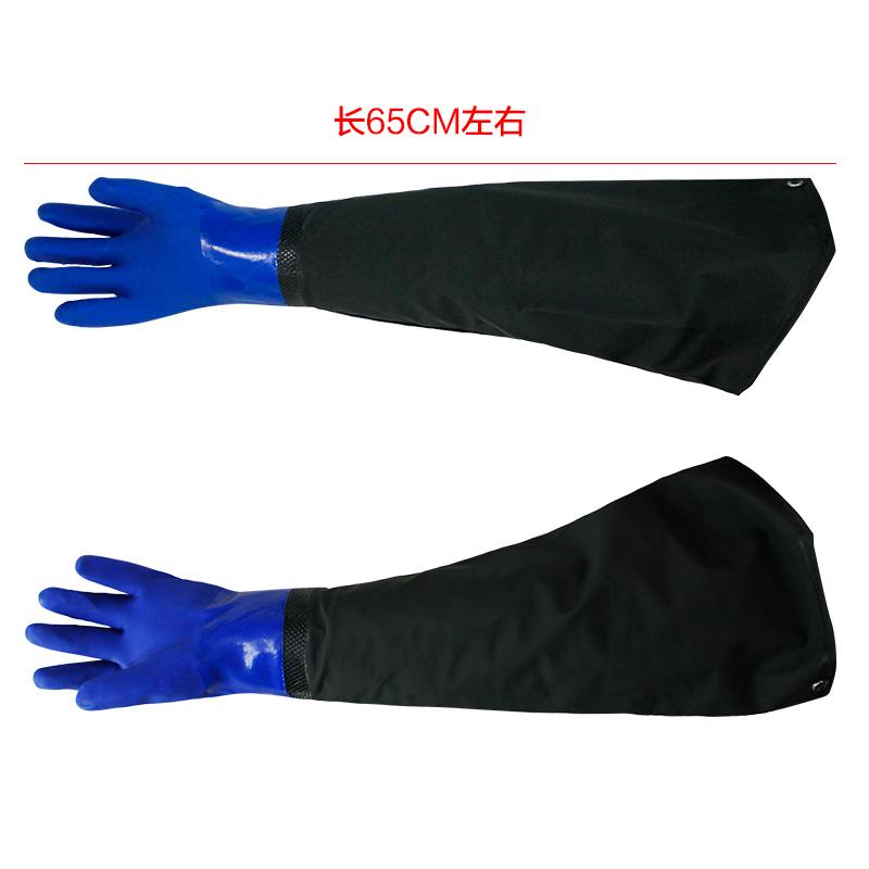 洗车手套防水专用冬季擦车橡胶手套加厚冬天保暖加绒毛绒洗碗工具