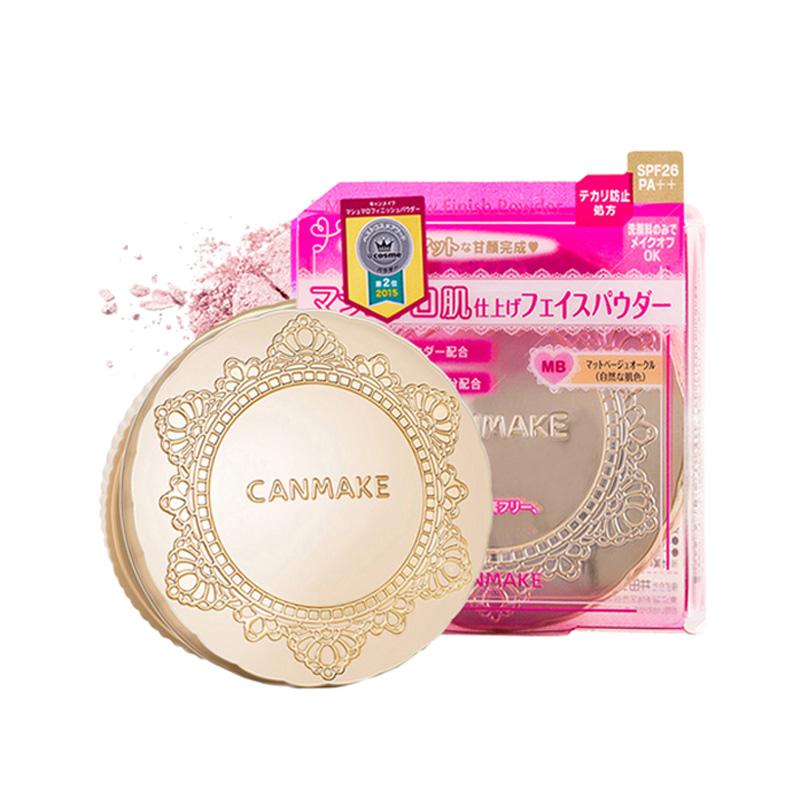 日本Canmake/井田棉花糖控油持久定妆美白保湿蜜粉饼遮瑕学生干粉