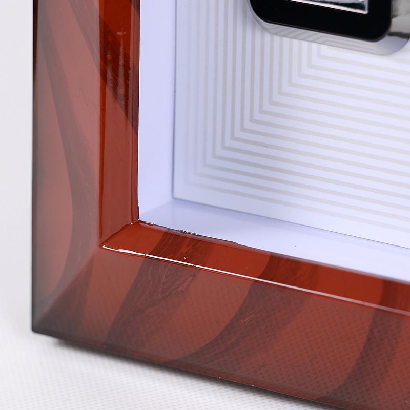 康巴丝16英寸钟表客厅卧室创意挂钟静音扫描二代智能电波钟包邮