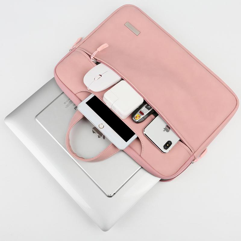 时尚可爱电脑包14寸女笔记本包15.6手提包适合16mac苹果macbookair13.3寸pro13寸11内胆包apple好看的保护套