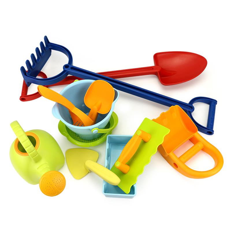 儿童沙滩玩具套装铲子和桶城堡组合男孩女孩宝宝玩沙子挖沙决明子