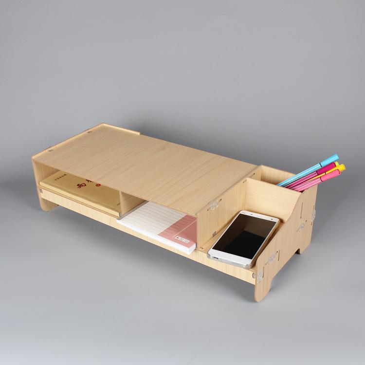 绚动电脑显示器增高架托架电脑架子增高底座键盘收纳支架置物架