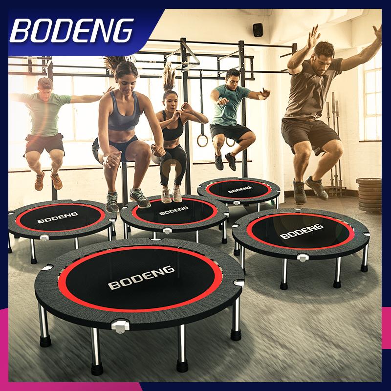 折叠便携,承重550斤+,质保十年:bodeng 健身房款 家用室内弹跳蹦蹦床