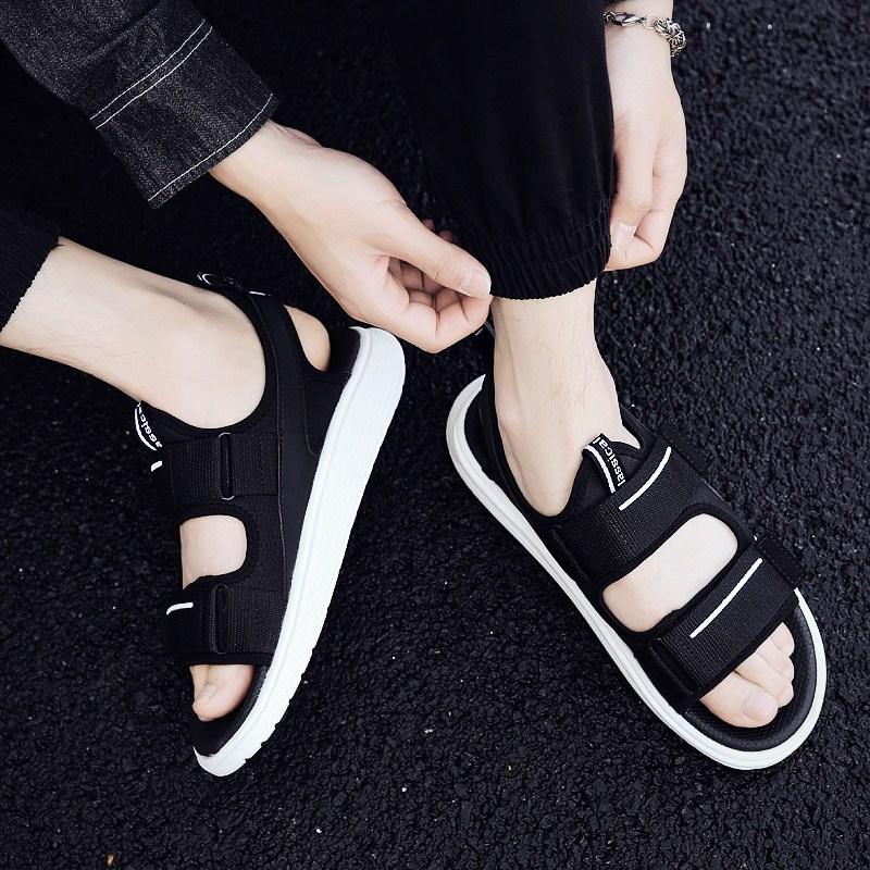 凉鞋男士凉鞋2018新款个性男款凉鞋男韩版男士沙滩鞋凉拖鞋男夏季