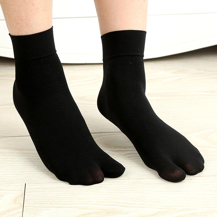 7双分趾袜丝袜短袜二指袜夏季款袜子防滑二趾袜人字拖木屐袜包邮