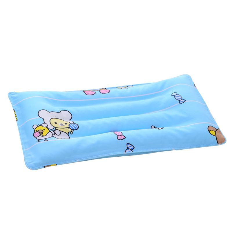 婴儿枕头夏季透气吸汗冰凉0-1岁新生儿宝宝防偏头定型枕四季通用