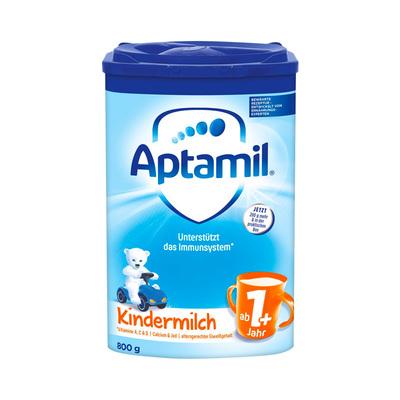 新版德国Aptamil爱他美蓝版易乐罐GOS/FOS益生元1+段1岁以上800g
