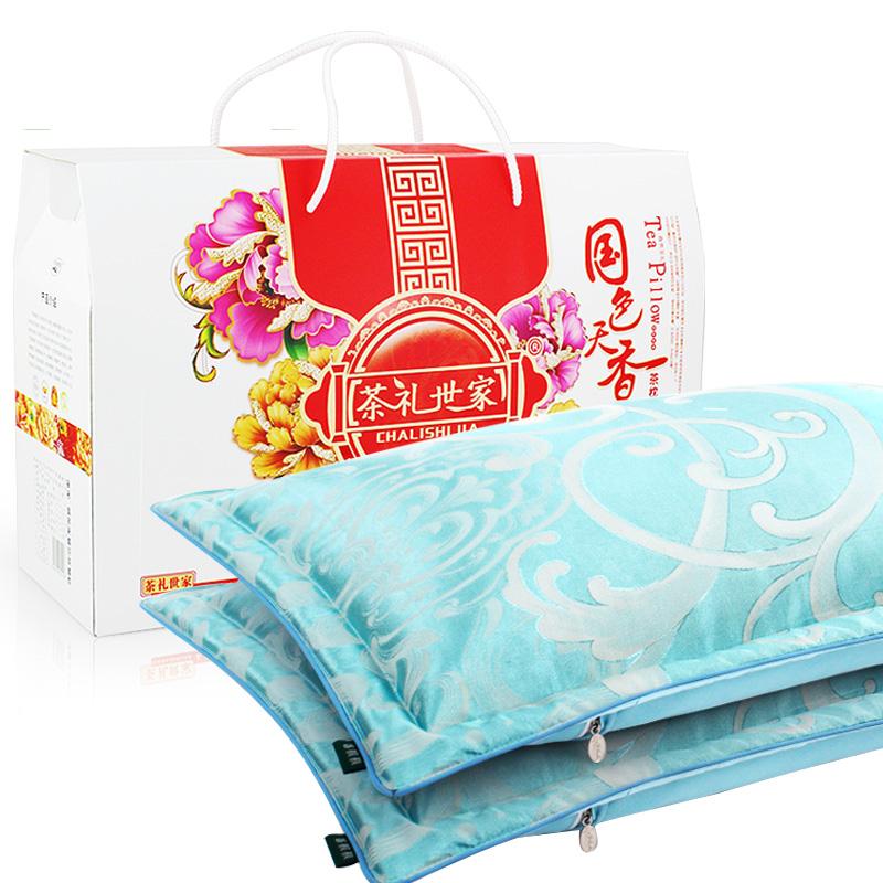 天然健康茶香对枕礼盒