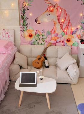懒人沙发卧室小沙发女小户型 ins双人网红单个出租房间简易榻榻米