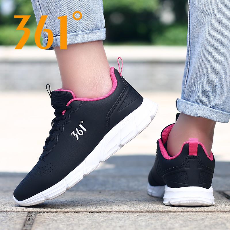 361运动鞋女 秋季跑步鞋2019新款冬季女士休闲跑鞋秋冬季学生女鞋