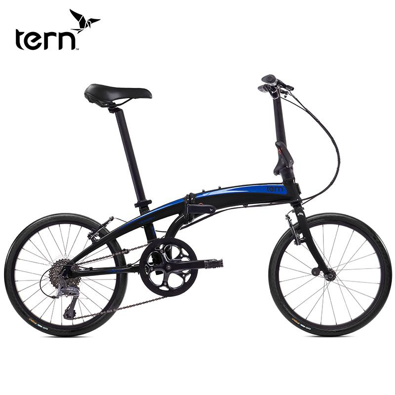 TERN燕鷗 Verge N8 20寸鋁合金摺疊車8速變速運動休閒自行車