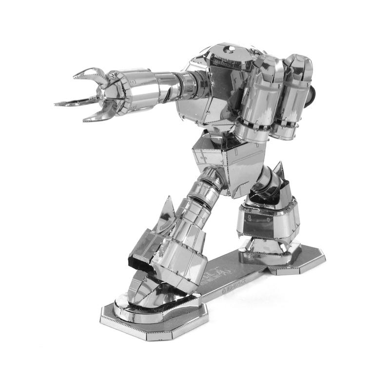 爱拼 金属DIY拼装模型3D立体拼图 机动战士高达机甲蟹型魔蟹扎古