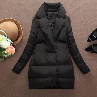 红豆2020年反季羽绒服女士显瘦加厚保暖中长款韩国版工作服西