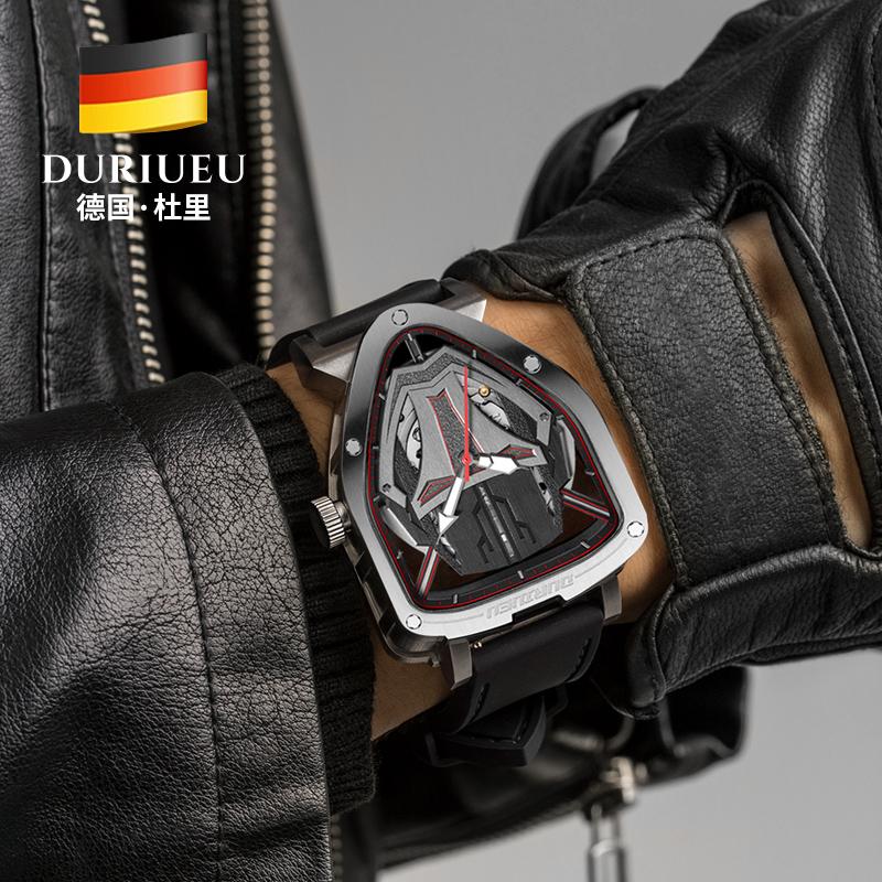 德国进口杜里手表男士钢铁侠十大品牌全自动机械表男表