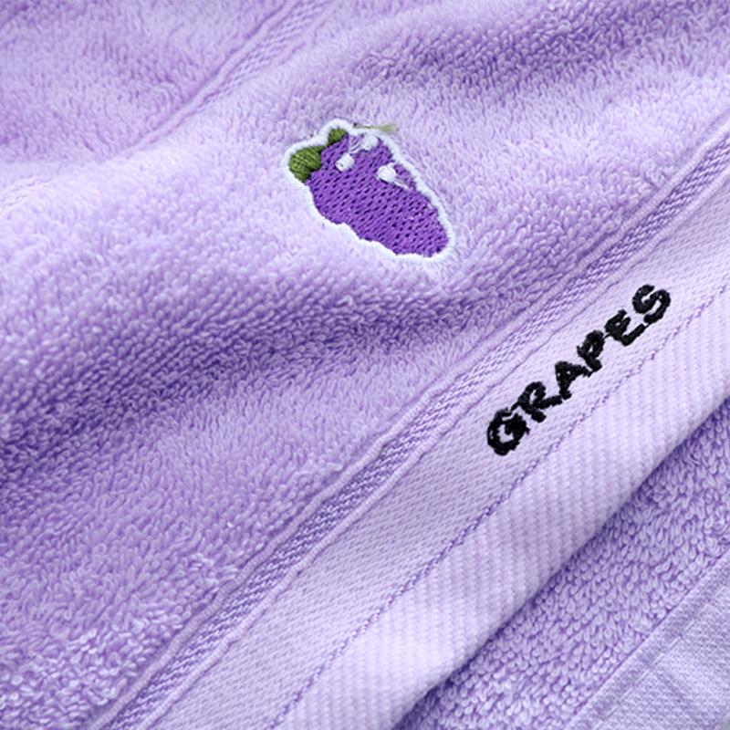 儿童毛巾洗脸纯棉软吸水家用不掉毛可爱卡通宝宝洗脸小毛巾长方形