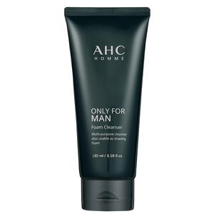 AHC男士洗面奶控油去黑头专用祛痘补水保湿洁面乳官方旗舰店官网