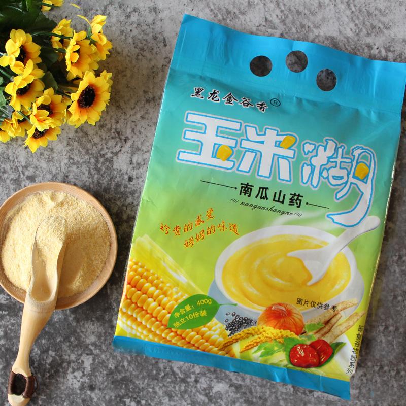 黑龙金谷香玉米糊营养早餐速食粥红枣黑芝麻粗粮五谷杂粮代餐粉