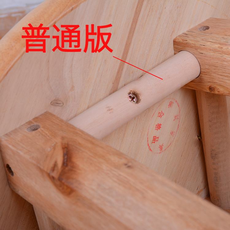 实木凳子小板凳家用凳整装小圆凳换鞋凳高脚凳吧 壹香树橡木凳子