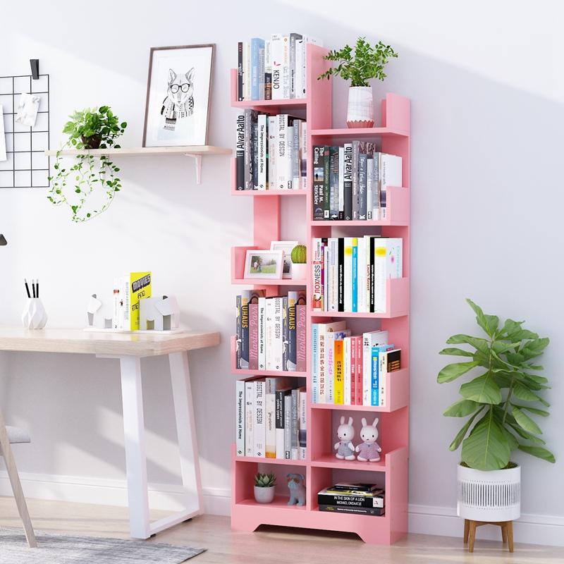简易儿童书架落地小型学生置物架简约家用书柜经济型绘本家用收纳主图