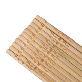 Chopsticks non-painted and wax-free household bamboo chopsticks high-grade solid wood hot pot chopsticks lengthened chopsticks natural bamboo tako