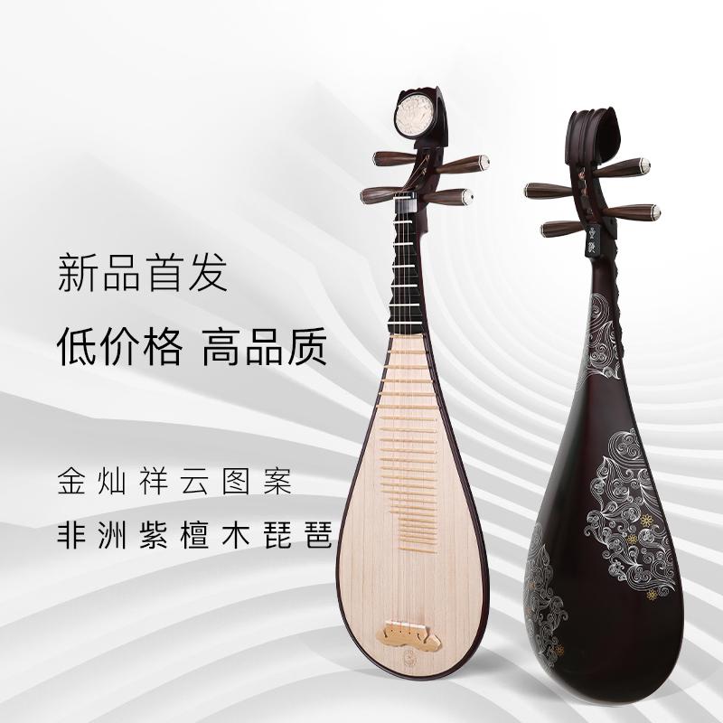 专业演奏琵琶花梨木红木琵琶大人初学民乐考级琴 星海琵琶乐器