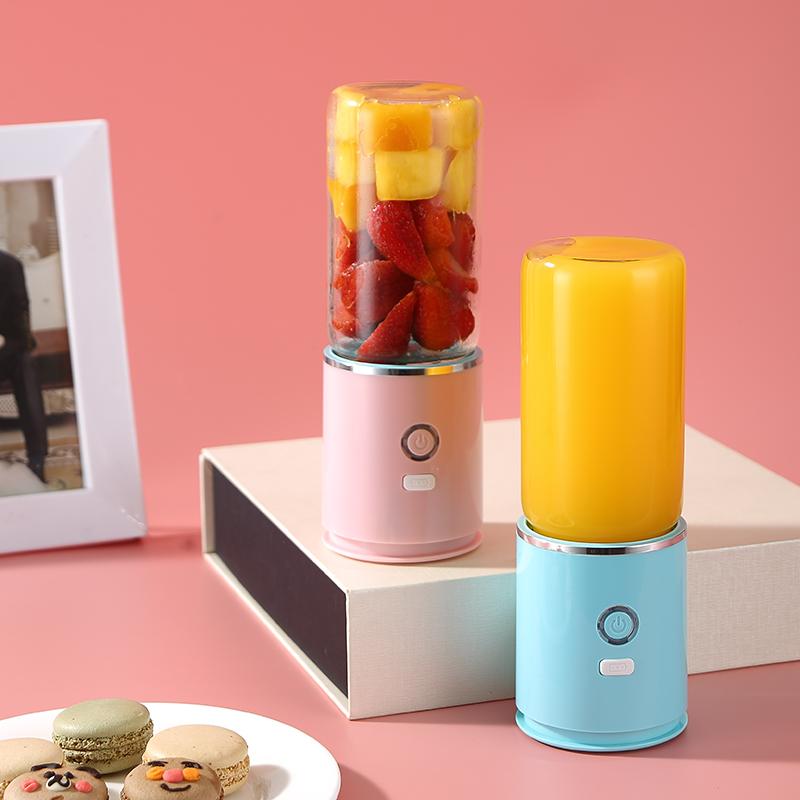 添色榨汁杯电动便携式迷你榨汁机家用水果小型宿舍炸果汁机学生