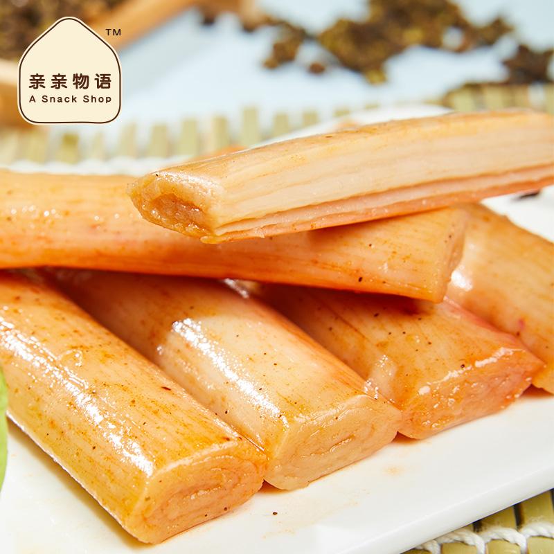 手撕蟹柳180g即食蟹味棒海味零食香辣蟹肉棒休闲小吃火锅 No.4