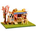 巧之匠diy小屋小汽车手工制作迷你拼装模型玩具六一儿童节礼物