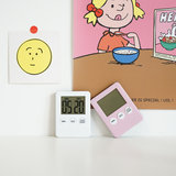 Korea ins simple timer mini portable kitchen timer reminder baking students do questions timer
