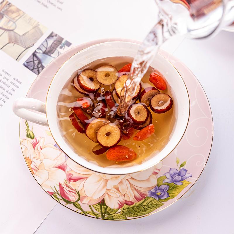 红枣桂圆枸杞茶五宝八宝花茶组合气血调理水果茶女泡水喝的养生茶
