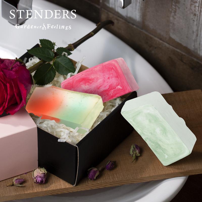 100g  洁面精油香皂清洁水润精油皂 3 stenders 施丹兰精油手工皂