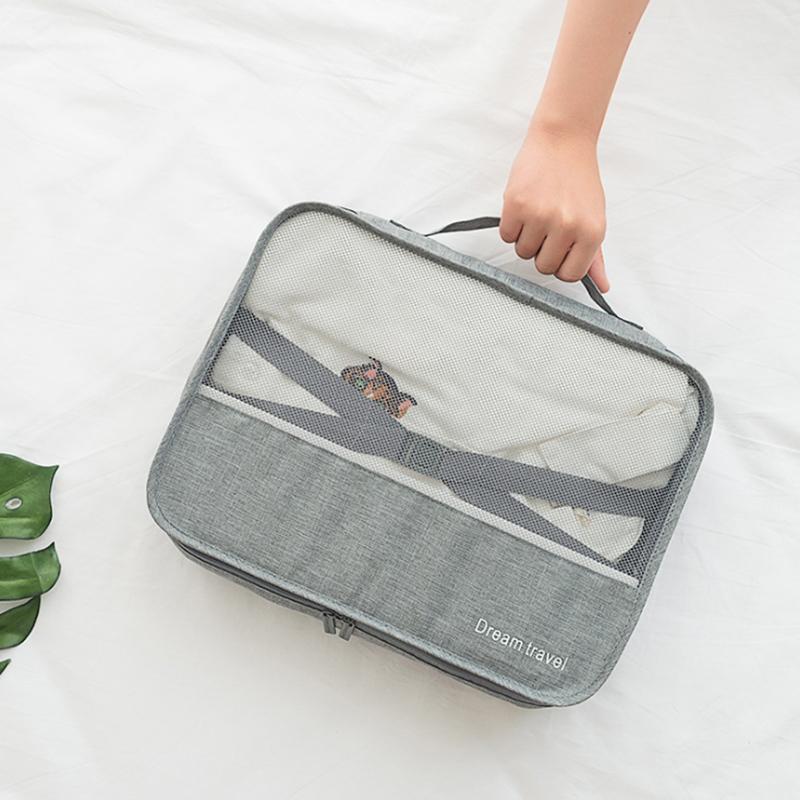 古奥高旅行套装收纳袋行李箱衣服整理包便携出差打包袋分类收纳包