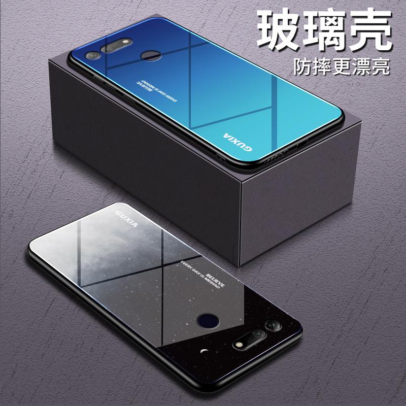 华为荣耀V20手机壳honorv20钢化玻璃PCT一AL10保护硅胶套