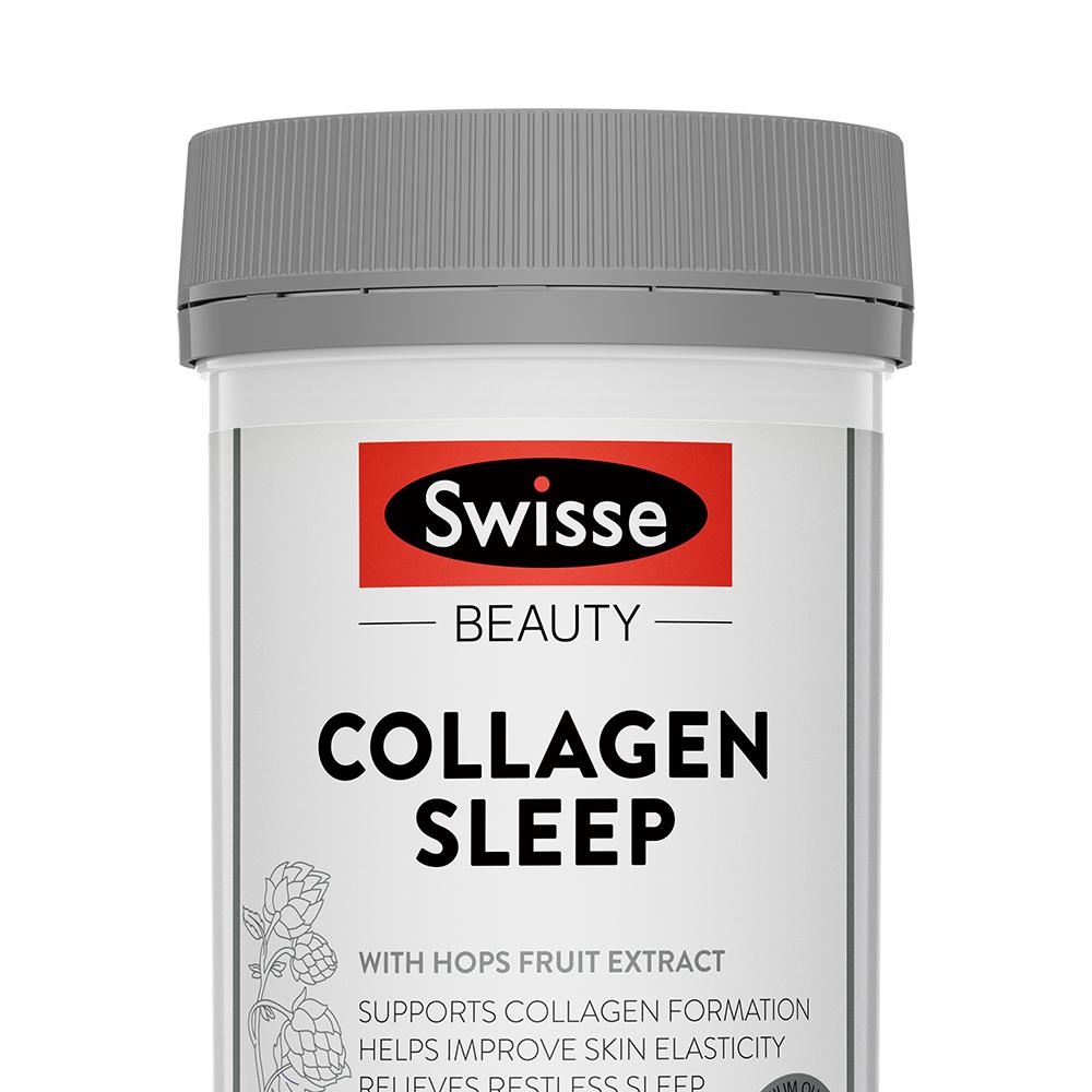 Swisse 晚安胶原蛋⽩白肽粉 120g/瓶